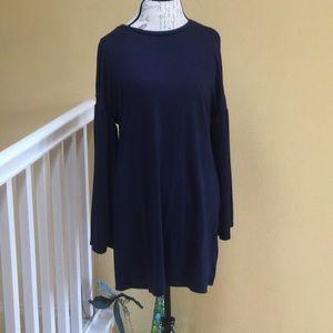 NWT Zara navy dress